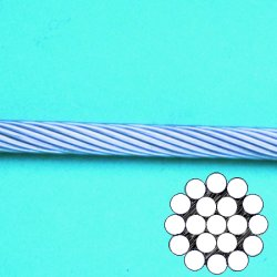 Wire Rope 1 x 19 (304)