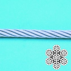 Wire Rope 7 x 19 (304)