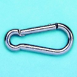 Spring Clip w/ Key Lock