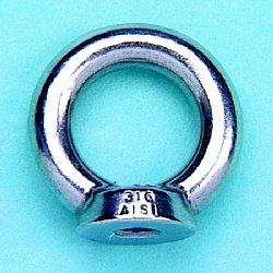Cast Lifting Eye Nut