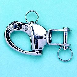 Stamped Jaw Swivel Snap Shackles