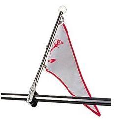 Flag/Pennant Staff, Bow Rail