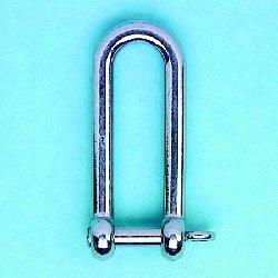 Long D Shackle w/ Captive Pin