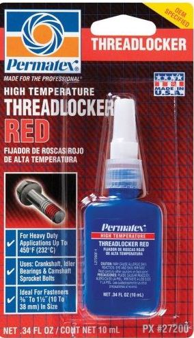 Loctite 272 Threadlocker (High Strength-Perm.)