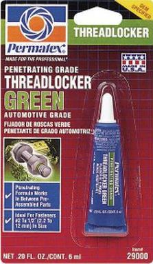 Loctite 290 Threadlocker (Med. Strength-Remov.)