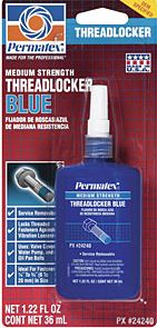 Loctite 242 Threadlocker (Med. Strength-Remov.)