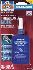 Loctite 242 Threadlocker (Med. Strength-Remov.)