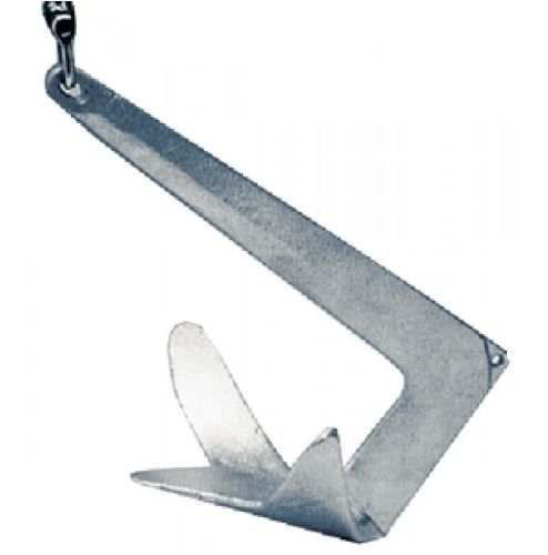 Stainless Steel Horizon Claw Anchor,   66 lbs.