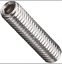 Stainless Steel Socket Set Screws, 100 ct. #6-32 x 1/2