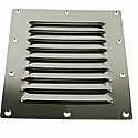 "Stainless Steel Louvered Vents  5"" x 6"""