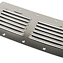 "Stainless Steel Louvered Vents  4-1/2"" x 9"""