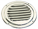 5 Inch Round Stainless Steel Louvered Vent