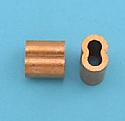 "1/16"" Copper Swage Sleeve (Cu)"